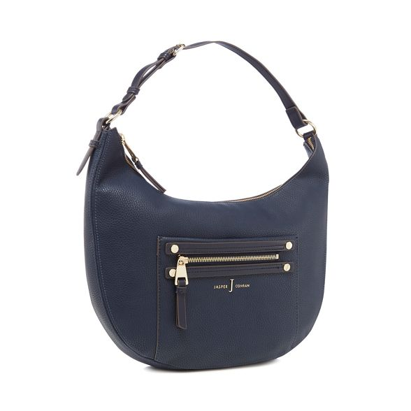 J zip by bag Conran Jasper shoulder Navy detail U8ZnUa