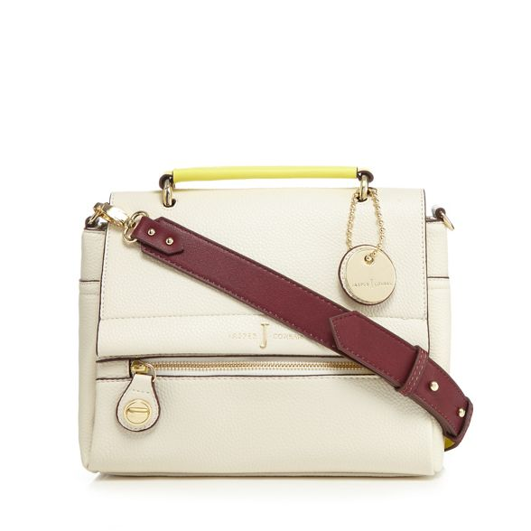 Jasper Conran body J bag block Cream colour cross by g65ZWZqxwH