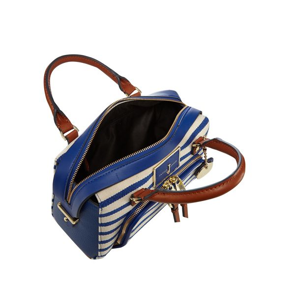 Jasper Blue striped by Conran bowler J bag 5PqtZ