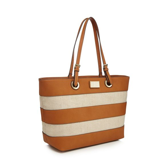 J tote Tan striped Conran by bag Jasper qpwrXZq