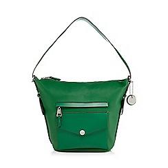 J by Jasper Conran - Green 'San Fran' bucket bag