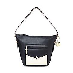 J by Jasper Conran - Black 'San Fran' bucket bag