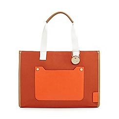 J by Jasper Conran - Orange 'St Tropez' tote bag