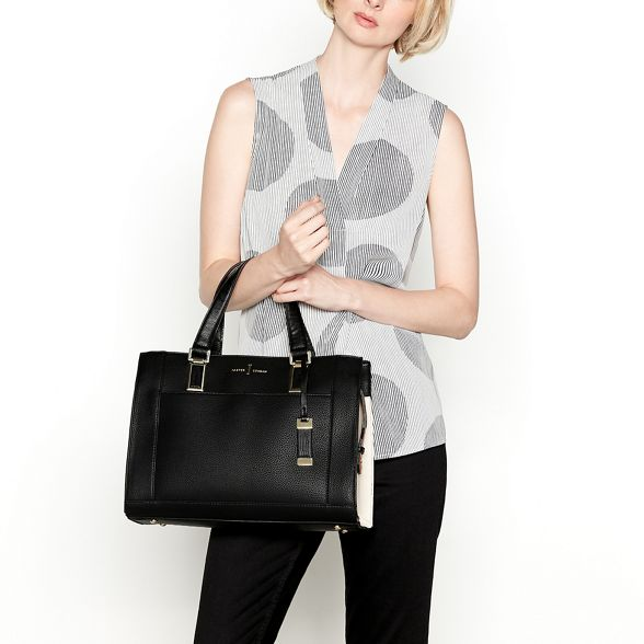 by shoulder Black bag Jasper J Conran colour block ZnBgBwqd