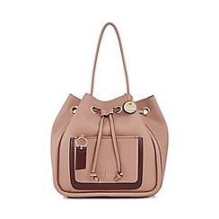 J By Jasper Conran Pink Cheshire Tote Bag
