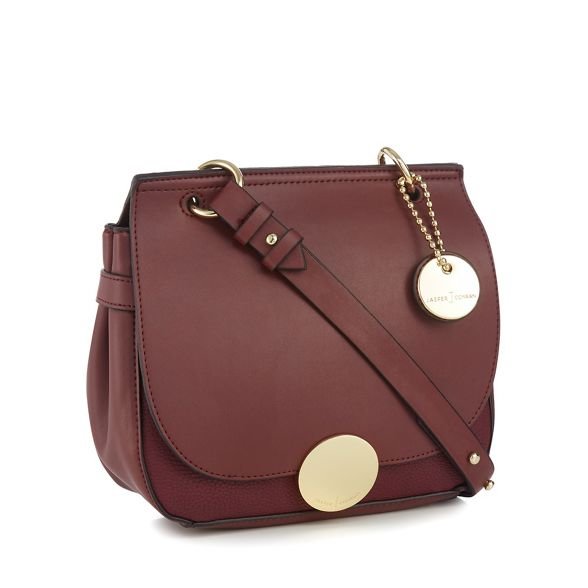 cross by red Jasper Conran J bag Wine 'Greenwich' body Y6qxP