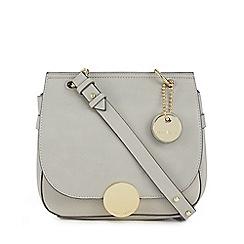 J by Jasper Conran - Grey 'Greenwich' crossbody bag