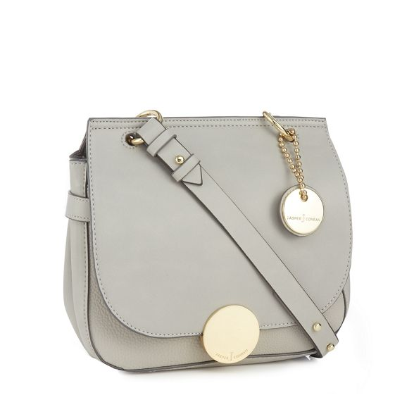Grey 'Greenwich' crossbody J Conran bag by Jasper q8xTPZ