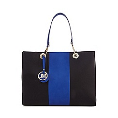 Star by Julien Macdonald - Black large stripe detail grab bag