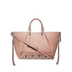 Star by Julien Macdonald - Pink eyelet detail winged tote bag