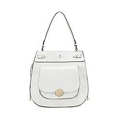 J by Jasper Conran - White 'Greenwich' shoulder bag