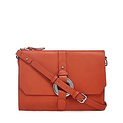 RJR.John Rocha - Orange circle detailing cross body bag