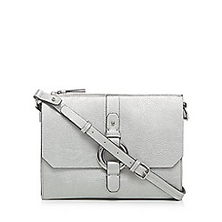 RJR.John Rocha - Silver circle detailing cross body bag