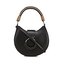 RJR.John Rocha - Black woven handle shoulder bag