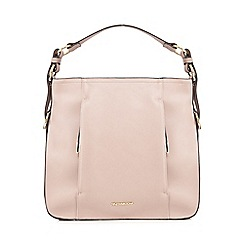 RJR.John Rocha - Light pink double zip hobo bag