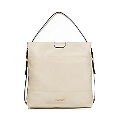 RJR.John Rocha - Cream side tab shoulder bag