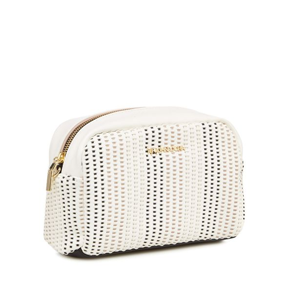 bag cross Rocha John woven body White RJR Hw68WzqYW