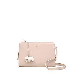 Radley - Light pink leather 'Liverpool Street' medium crossbody bag