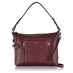 Radley - Medium wine red leather 'Northcote Road' multiway bag