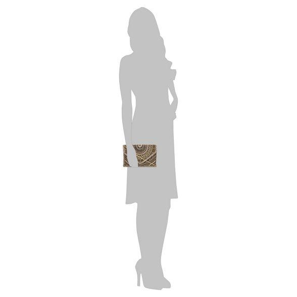 bag bead Gold envelope Savannah Miller by embellished Nine clutch qx4nFx