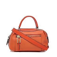 Star by Julien Macdonald - Orange zip detail bowler bag