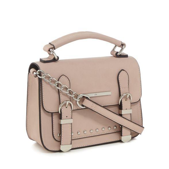 cross body Red studded pink Herring bag Light wq86I