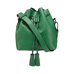 Red Herring - Green drawstring duffle bag