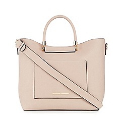 Red Herring - Light pink 'Suzie' shopper bag