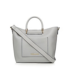 Red Herring - Grey 'Suzie' shopper bag