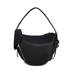 Red Herring - Black dual function hobo bag
