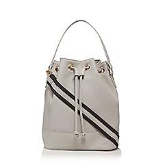 Red Herring Grey Bucket Bag