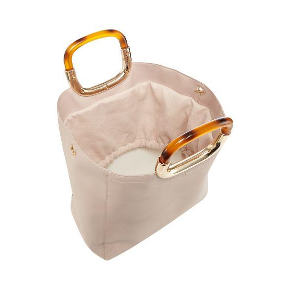 grab Pink bag tortoiseshell Faith handle t1qndwOw