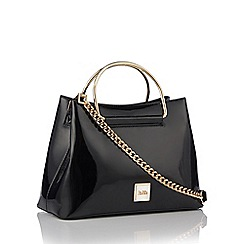 Faith - Black patent small grab bag