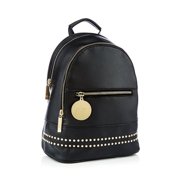 Black Black studded Faith Faith backpack backpack studded Faith 5vWZHUWq