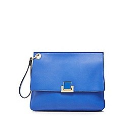Faith - Blue clutch bag