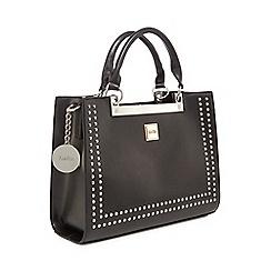 Faith - Black 'Eva' studded grab bag