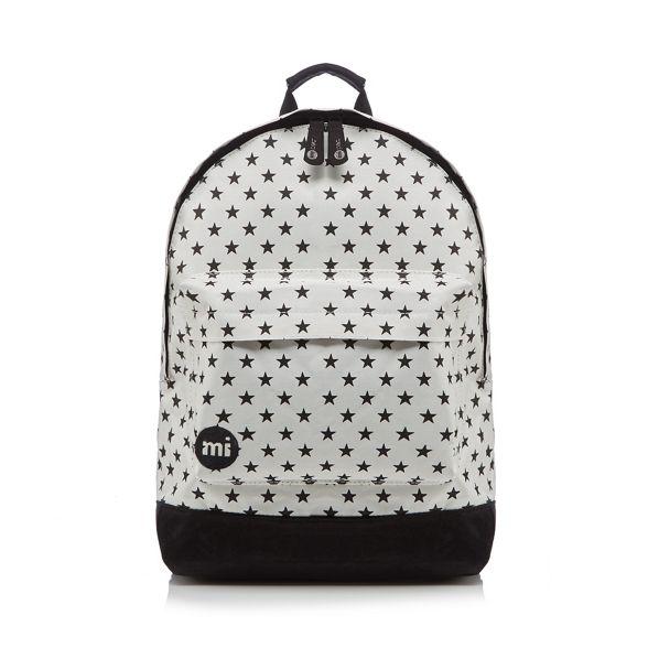 'All backpack Mi White Star' zipped Pac gvx7qEA