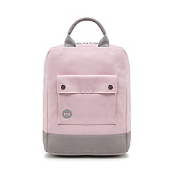 Mi-Pac - Light pink canvas backpack