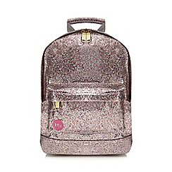 Mi-Pac - Light pink glitter backpack
