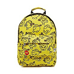 Mi-Pac - Yellow 'Little Miss Sunshine' print backpack