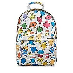 Mi-Pac - Multi-coloured 'Mr. Men' print backpack