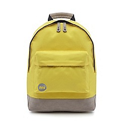 Mi-Pac - Yellow 'Classic' backpack