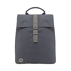 Mi-Pac - Grey 'Canvas Day Pack' backpack