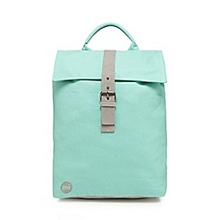 Mi-Pac - Light green 'Canvas Day Pack' backpack