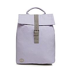 Mi-Pac - Lilac 'Canvas Day Pack' backpack