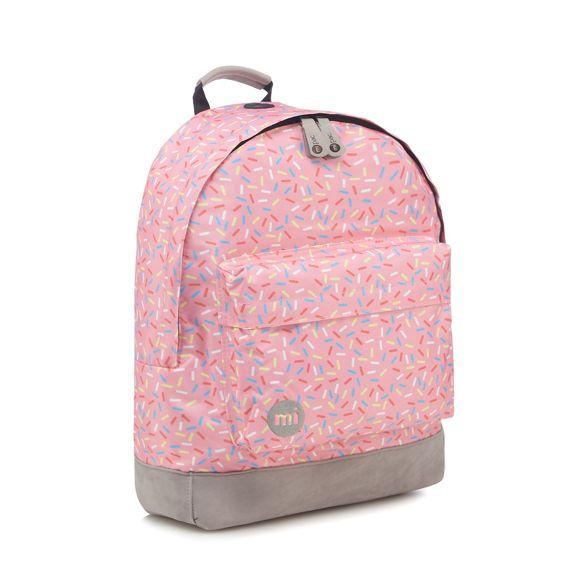 Pac print Mi Pink backpack sprinkles Z6dTwdCqx