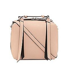 Faith - Pink zip detail grab bag