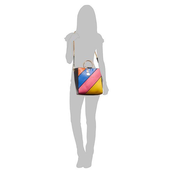 Faith coloured shopper Multi bag rainbow stripe ArvAI5q