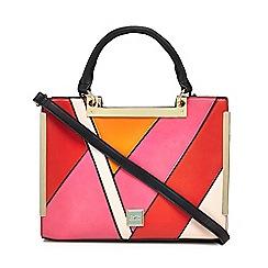 Faith - Multi-coloured patchwork 'Eva' large grab bag