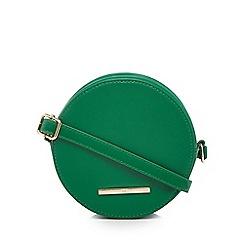 Red Herring - Green circle cross body bag